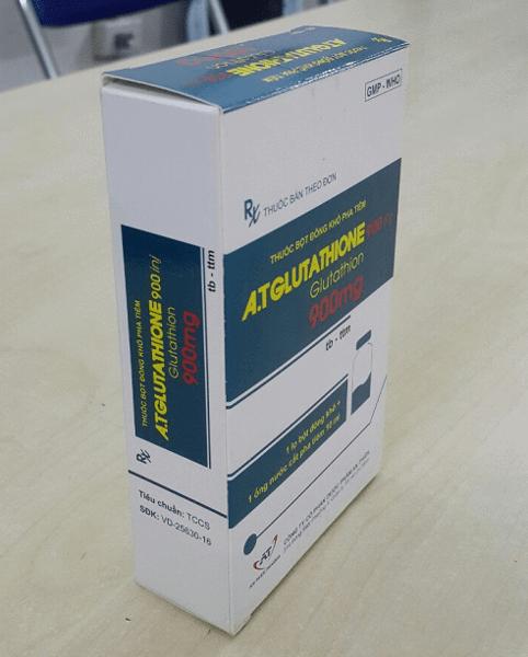 Thuốc A.T Glutathione 900mg giá bao nhiêu Mua ở đâu chính hãng