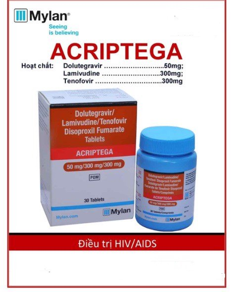 Thuốc Acriptega HIV