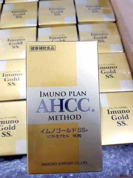 Thuốc AHCC Imuno Plan là thuốc gì Giá bao nhiêu Mua ở đâu