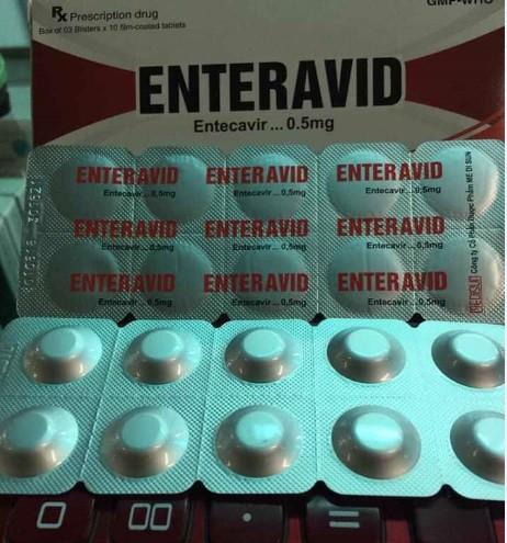 Thuốc ENTERAVID 0,5 mg (Entecavir) có tốt không