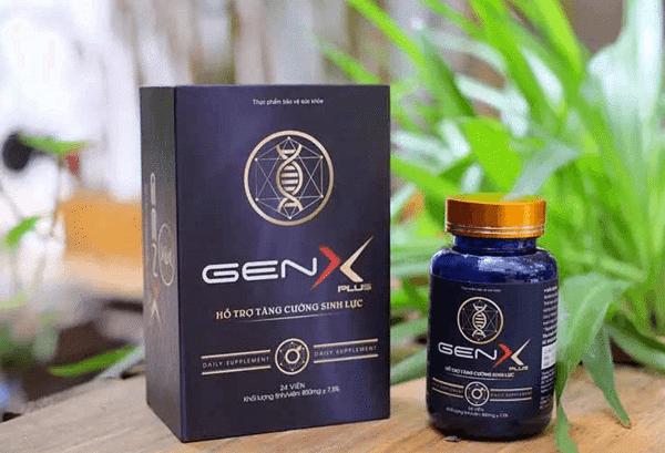 Thuốc Gen X Plus là thuốc gì Giá bao nhiêu Mua ở đâu