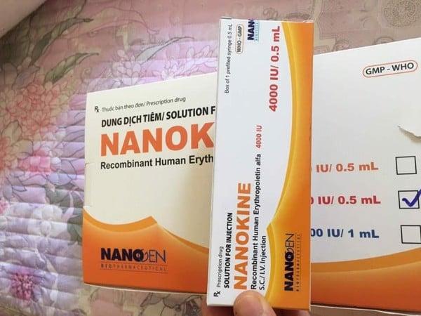ThuốcNANOKINE 2000 IU và 4000 IU Hồ chí minh