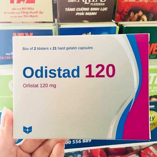 Thuốc ODISTAD 120mg và ORLISTAT STADA 60mg giá bao nhiêu Mua ở đâu