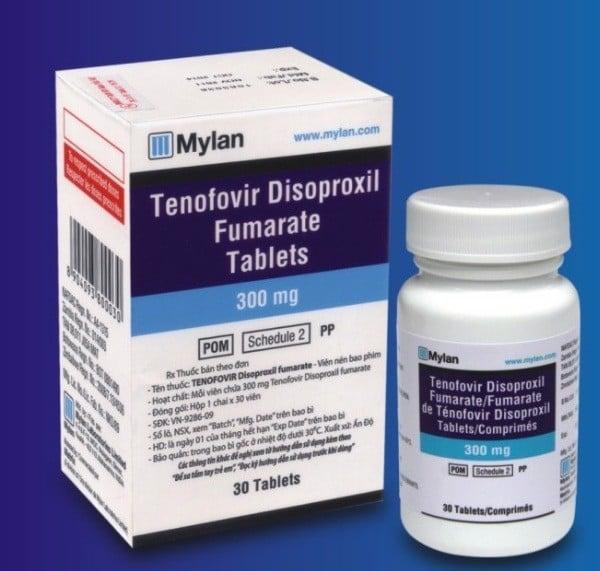 Thuốc Tenofovir disoproxil fumarate 300mg là thuốc gì Giá bao nhiêu
