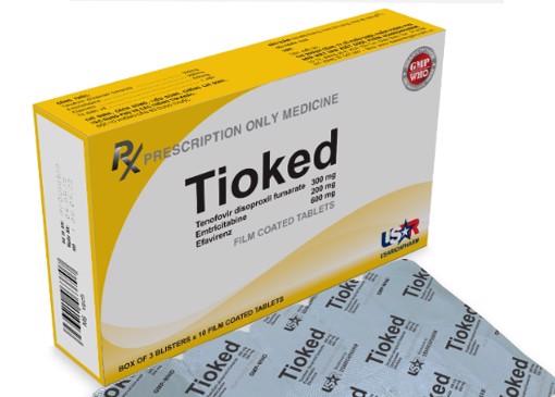 Thuốc Tioked (ARV  PEP) giá bao nhiêu Mua ở đâu