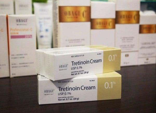 Tretinoin OBAGI 0.1 mua ở đâu Hà Nội, Hồ Chí Minh