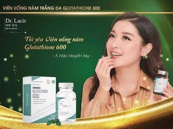 Viên uống trị nám white Glutathione 600 Dr.Lacir