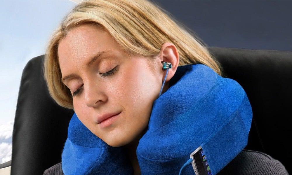 Gối kê cổ cao su non Mỹ Cabeau Evolution Travel Pillow cao cấp