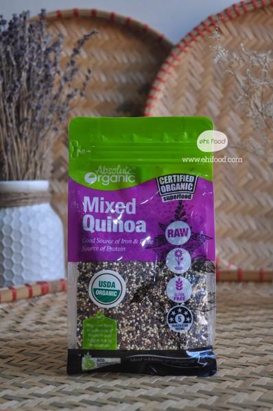 Hạt diêm mạch ÚC mixed 3 màu Absolute Organic Mixed Quinoa
