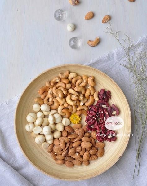 Cách mixed các loại hạt