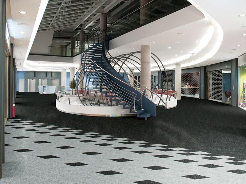 sàn nhựa LG Hausys sử dụng trong các trung tâm thương mại