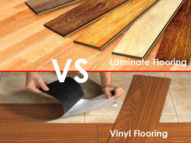 so sánh ưu điểm và nhược điểm của sàn nhựa Vinyl và sàn gỗ công nghiệp