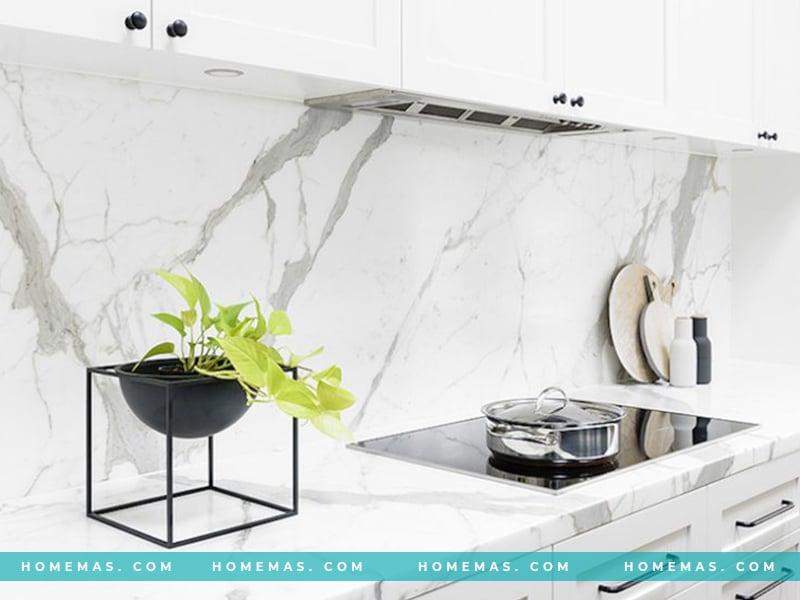 Mẫu đá cẩm thạch trắng đẹp khó cưỡng