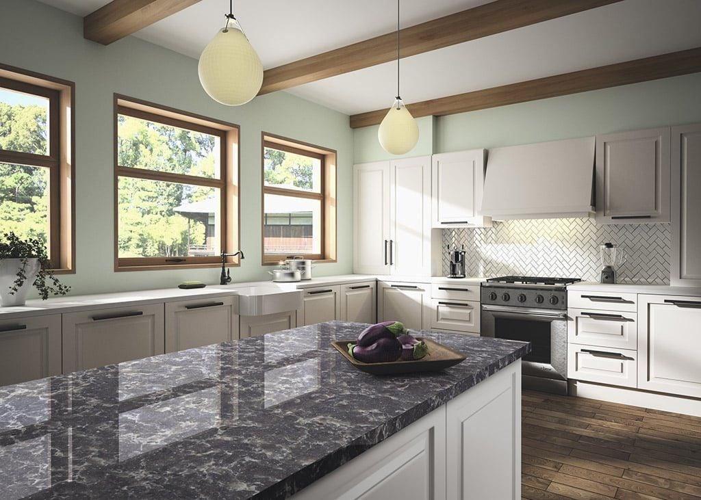 Sáng tạo với các thiết kế nội thất với đá quartz hiện đại