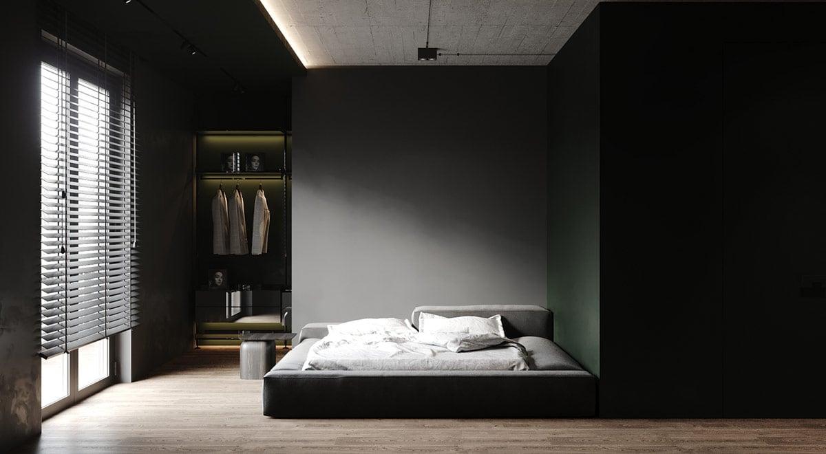 nội thất màu đen