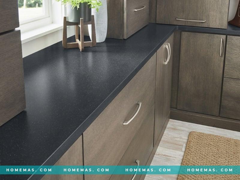 Đá ốp bếp đen G010 Black Pearl