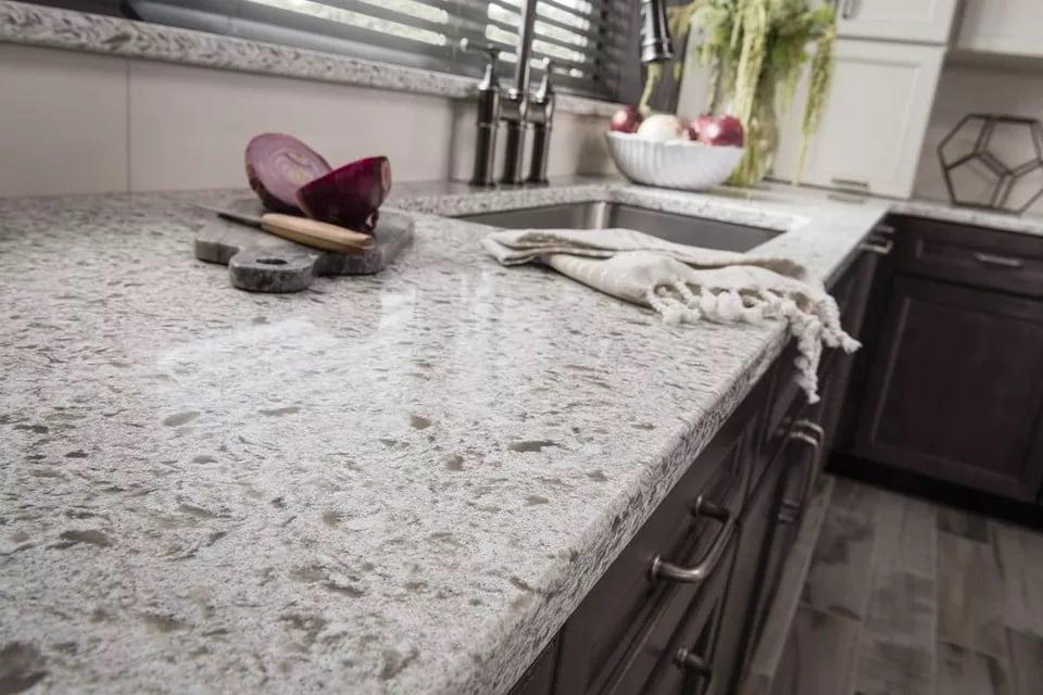 Mẫu bàn đá nhân tạo granite đẹp