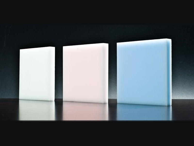 Đá nhân tạo xuyên sáng dòng Lucent của HI-MACS LG Hausys