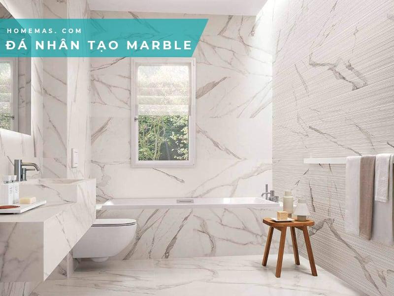 Ứng dụng đá marble nhân tạo
