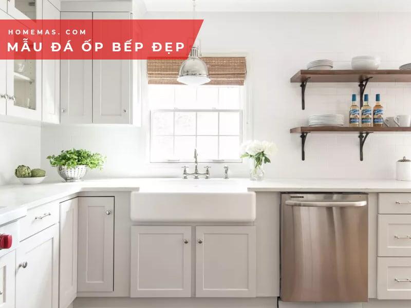 Những mẫu đá ốp bếp sang trọng cho phòng bếp