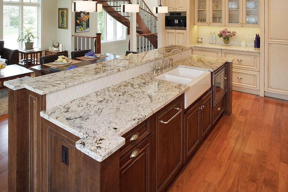 Mẫu đá nhân tạo granite hiện đại
