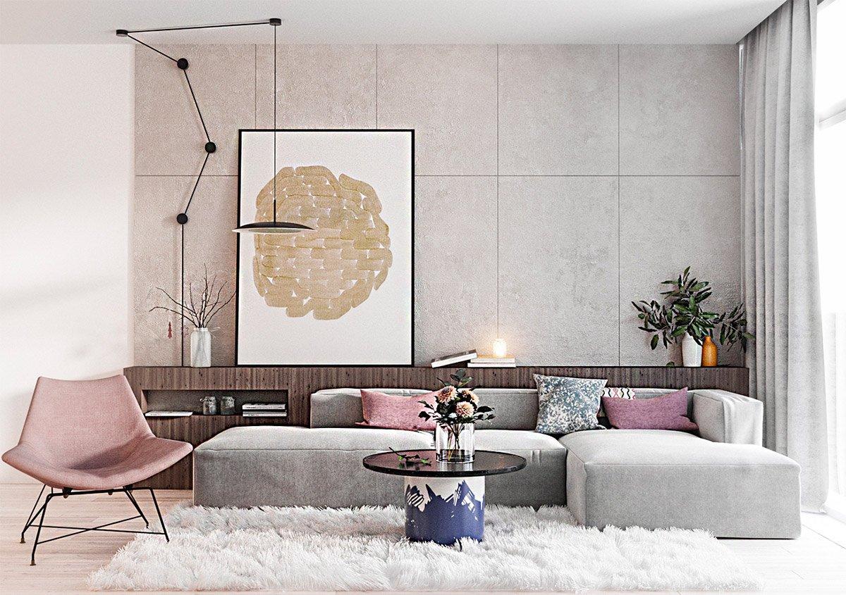 vật liệu hoàn thiện nội thất