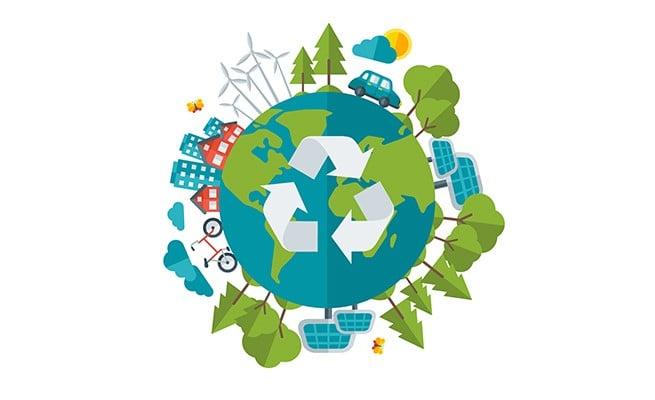 Tái chế, vật liệu bảo vệ môi trường