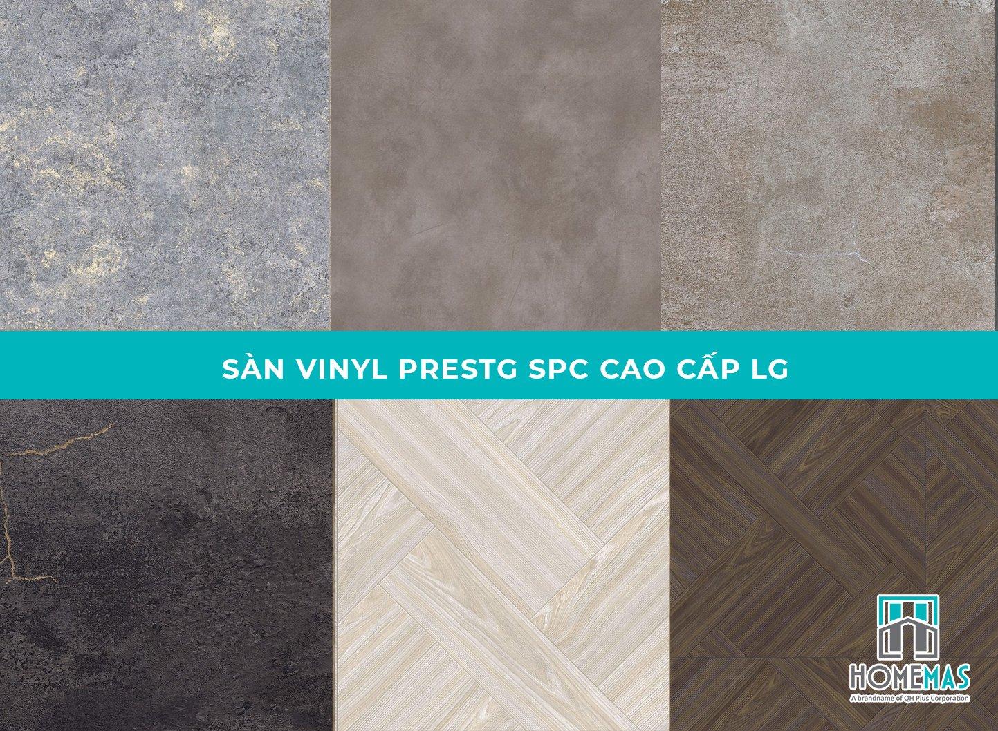 Sàn nhựa hèm khóa SPC là gì, báo giá sàn vinyl SPC