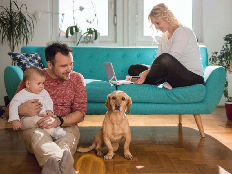 sàn nhựa LG Hausys an toàn cho sức khỏe gia đình