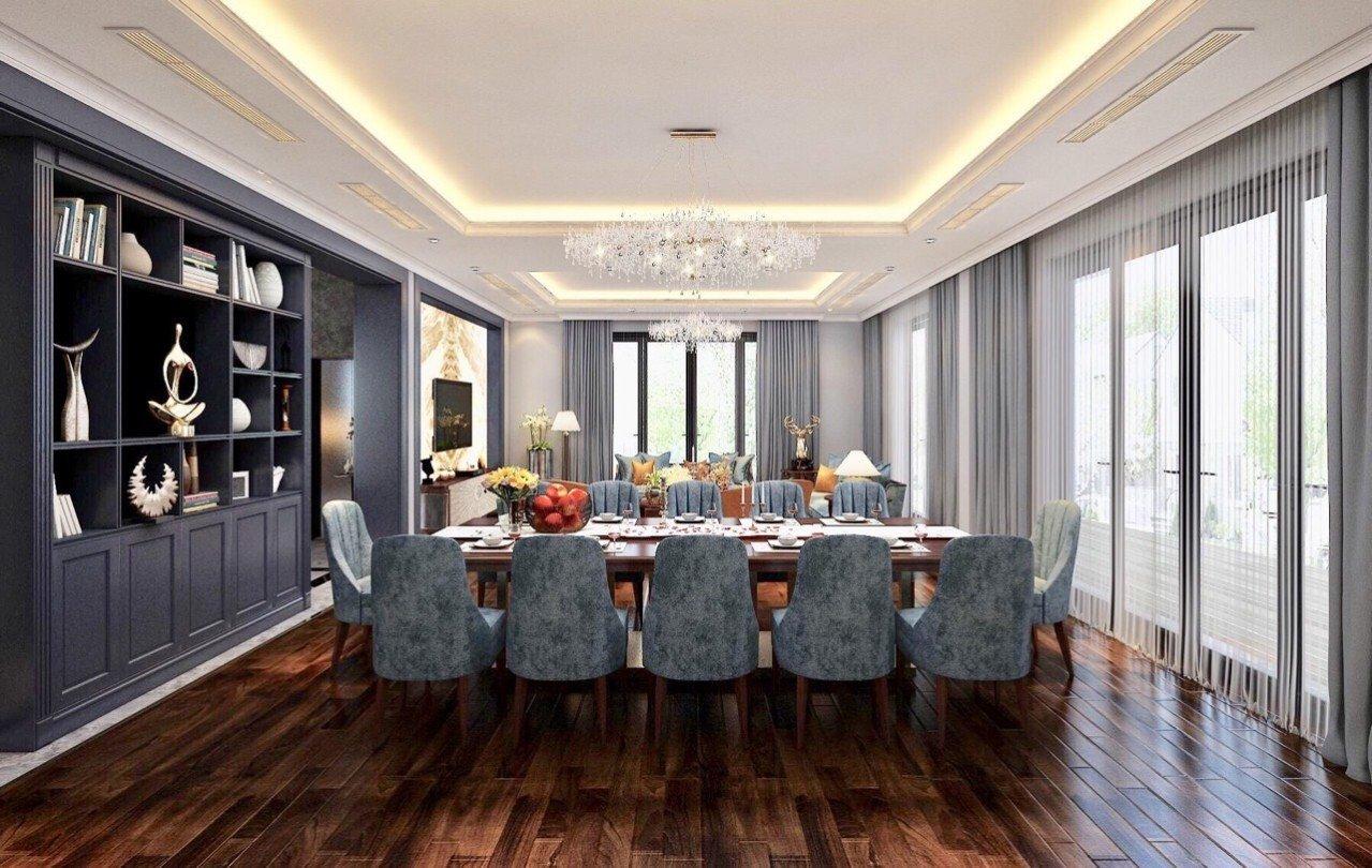 Thiết kế nội thất sang trọng phong cách luxury