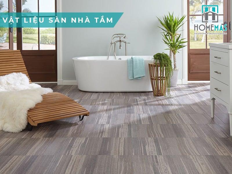 Top 7 loại vật liệu ốp lát sàn nhà tắm mới nhất
