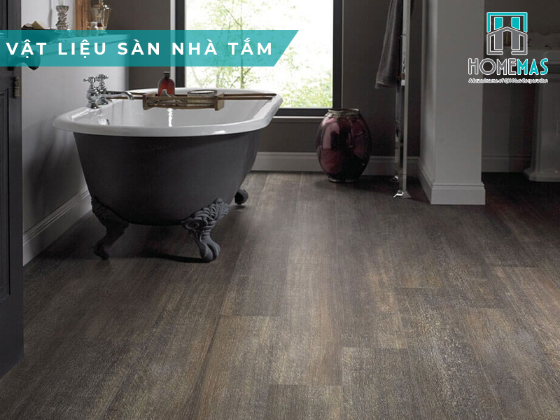 Chọn vật liệu sàn nhà tắm loại nào tốt nhất