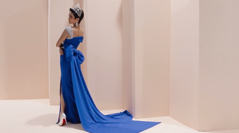 LINH SAN COUTURE- FALL-WINTER 2018 IN BLUE COLLECTION - H'HEN NIÊ, HOÀNG THÙY ( OFFICIAL VIDEO )