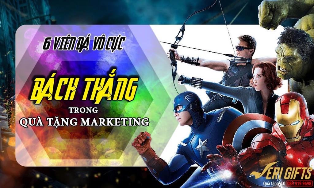 6 VIÊN ĐÁ VÔ CỰC trong Quà Tặng Marketing