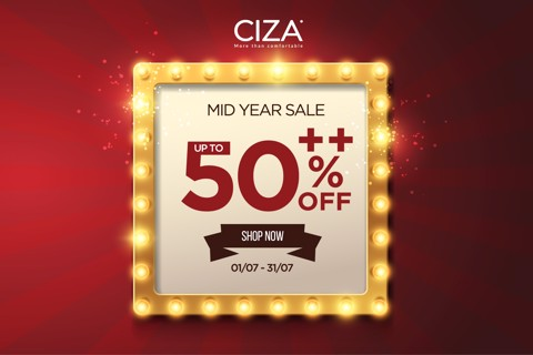 MID YEAR SALE – SALE UP TO 50%++