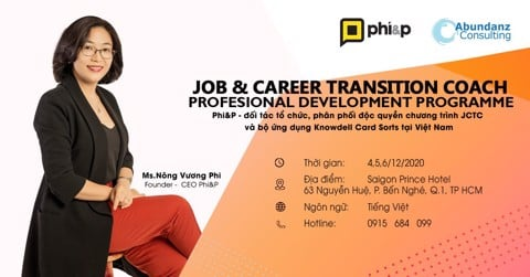 Khóa 03 - Job & Career Transition Coach Professional Development