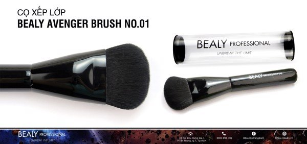 CO XEP LOP BEALY AVENGER BRUSH NO.01