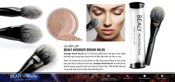 CO XEP LOP BEALY AVENGER BRUSH NO.05