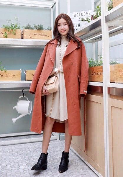 chất liệu áo khoác dài
