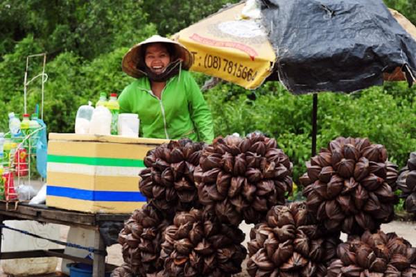 đặc sản dừa nước Cần Giờ