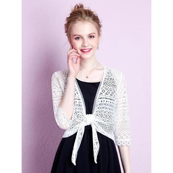 cửa hàng bán áo khoác lửng mặc với váy