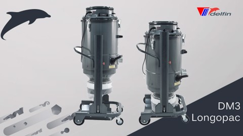 New DM3 Longopac: the suction solution for floor preparation