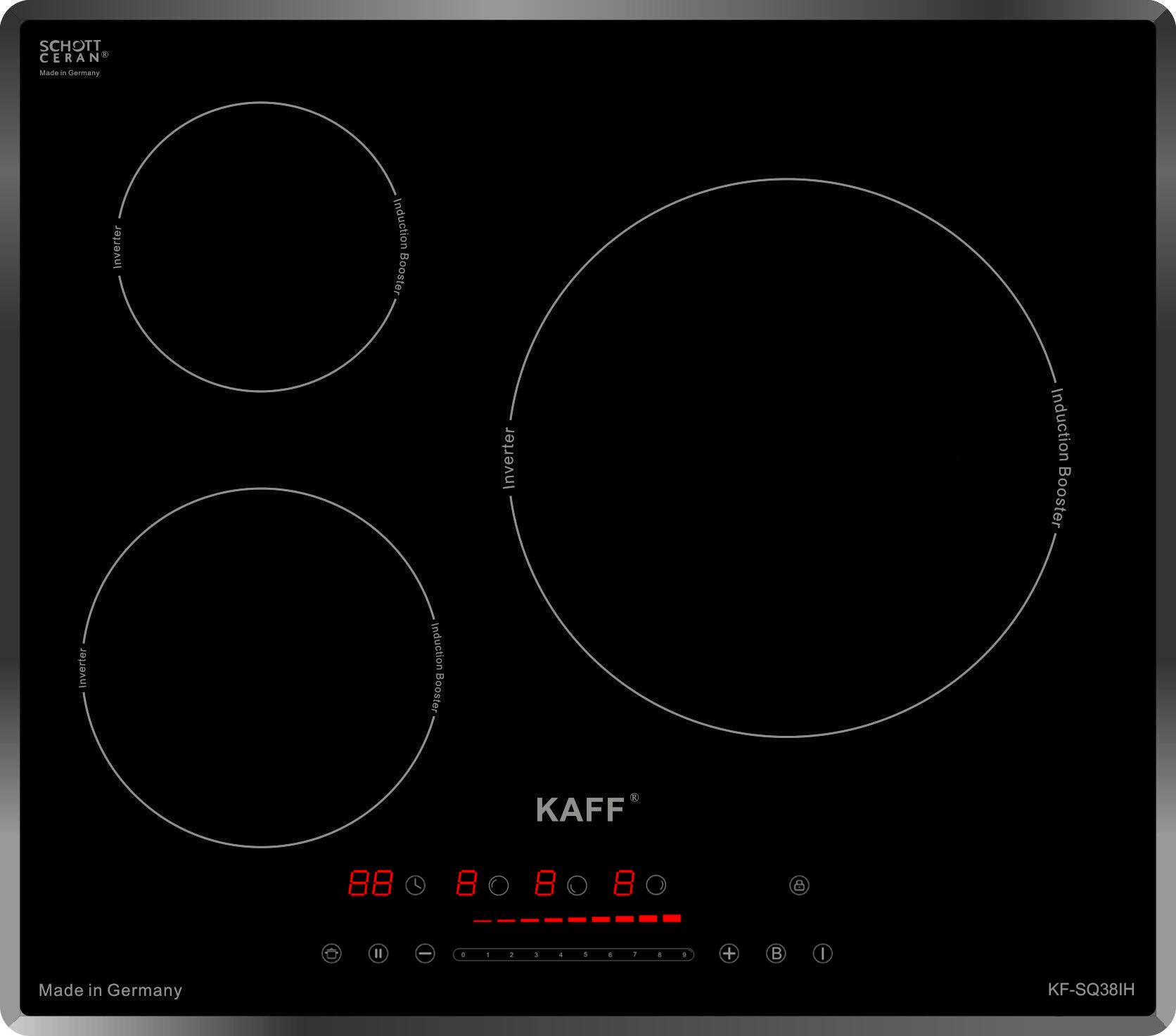 Bếp từ ba Kaff KF-SQ38IH