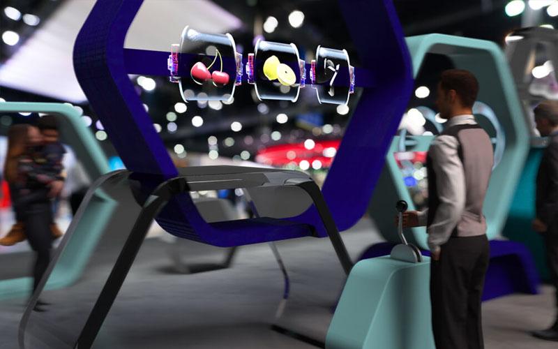 Quạt đèn LED 3D Hologram fan quảng cáo Aturos Holo-100S (cánh quạt 100cm, 1024 đèn, có điều khiển iCloud)