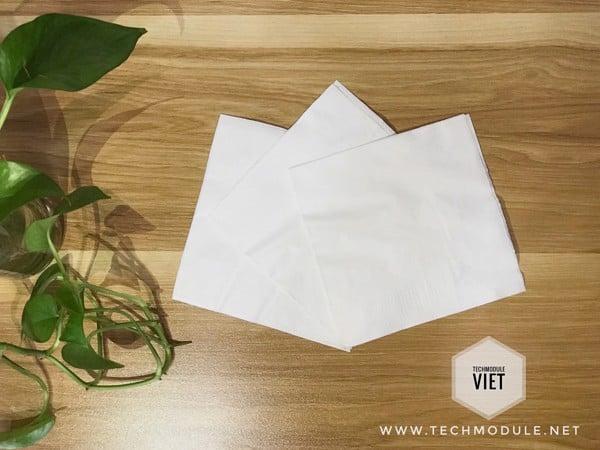 giấy lau tay 2 lớp