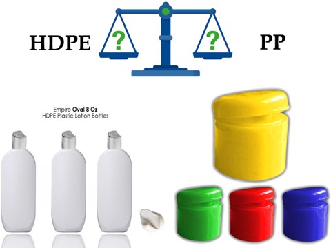What's the difference PP and HDPE plastic