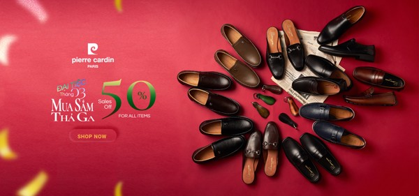 Pierre Cardin Paris Vietnam: MARCH 2021 - SALES OFF 50% FOR ALL ITEMS