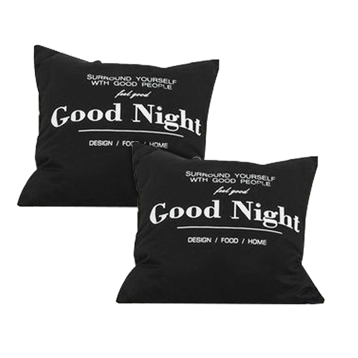 Combo 2 Gối Tựa Lưng Good Night SC Decor