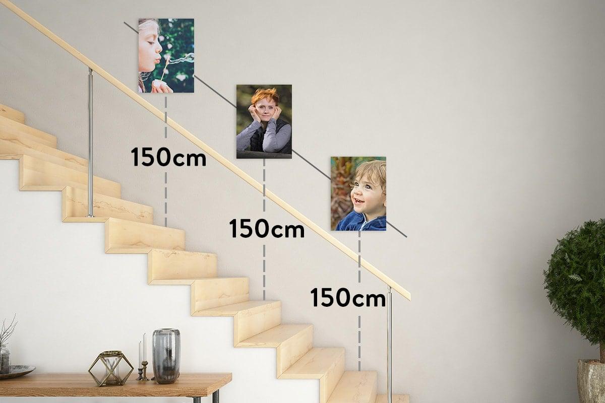 Hướng dẫn cách treo tranh theo kích thước và bố cục