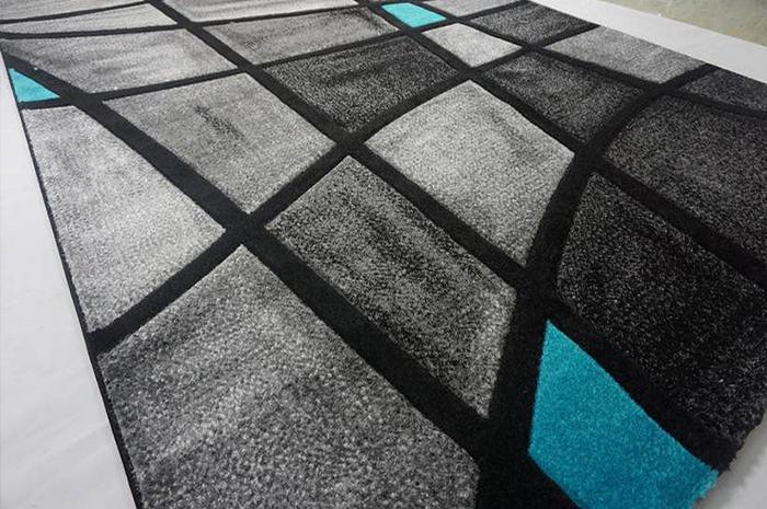 Thảm Trải Sàn Formax  BlackTurquoise P04